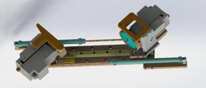 single cutting mechanism 3D model