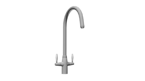 3D model bathroom tap