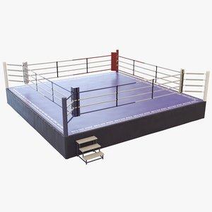 boxing ring model