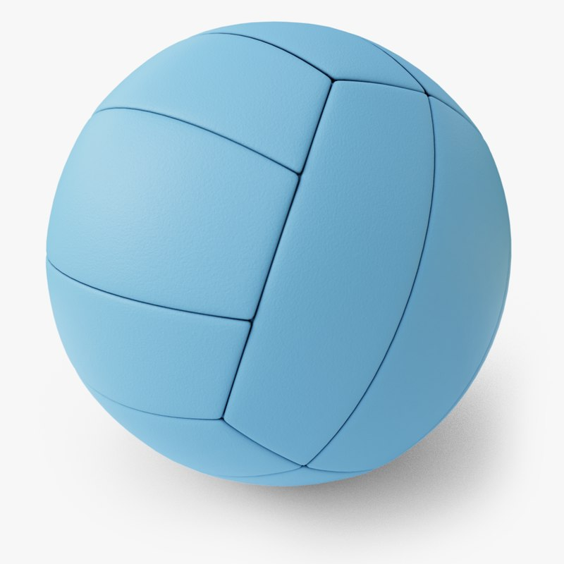 3D volleyball pbr