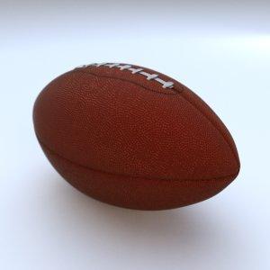 3D realistic football