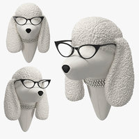 soft poodle - doris 3D model