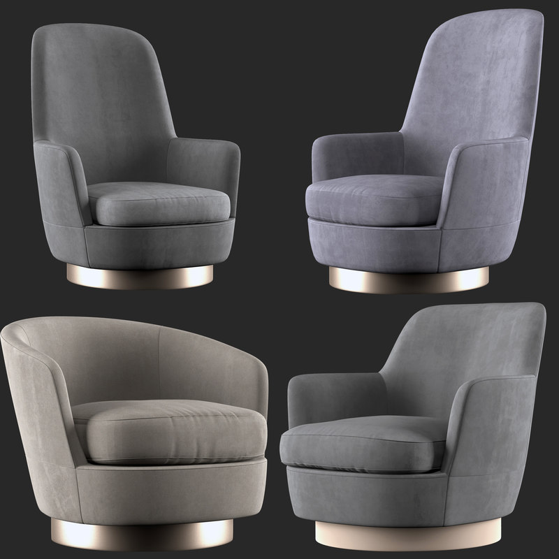 armchairs 3D