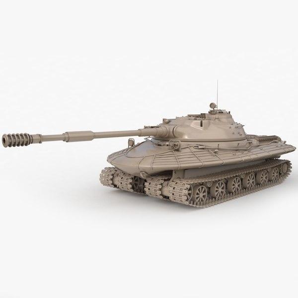 3D tank object 279 soviet model