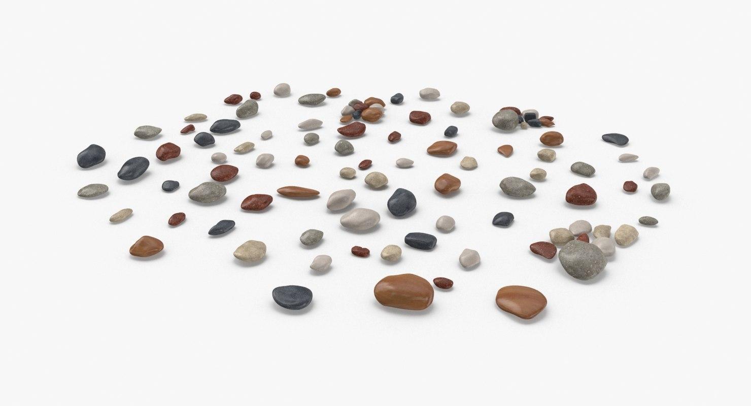 scattered-rocks-03 3D model