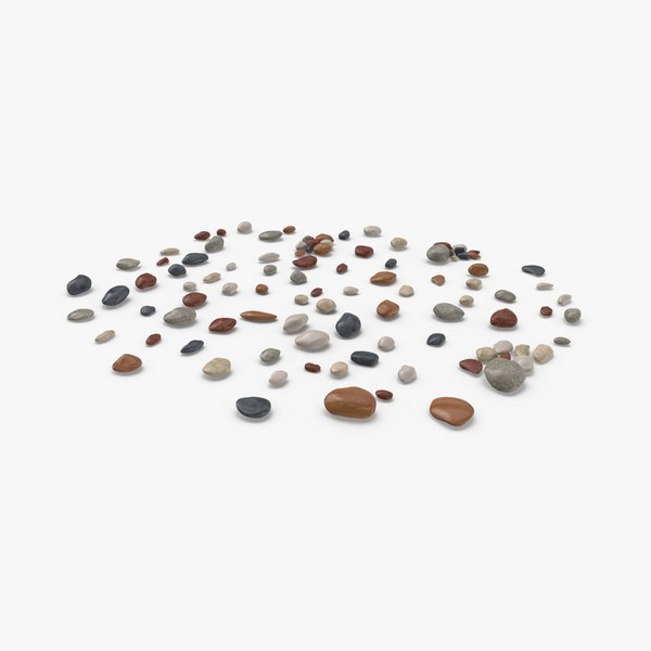 scattered-rocks-03 3D model