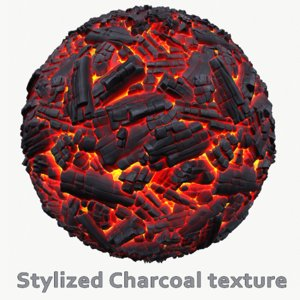 Stylized Charcoal texture