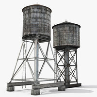 Rooftop Water Towers