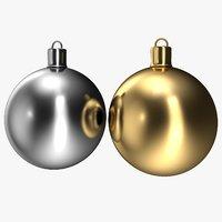 3D cristmas balls