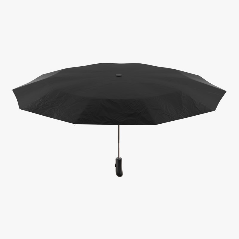 umbrella animation rig 3D model