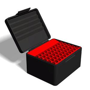 ammo box 7x64 mm 3D model