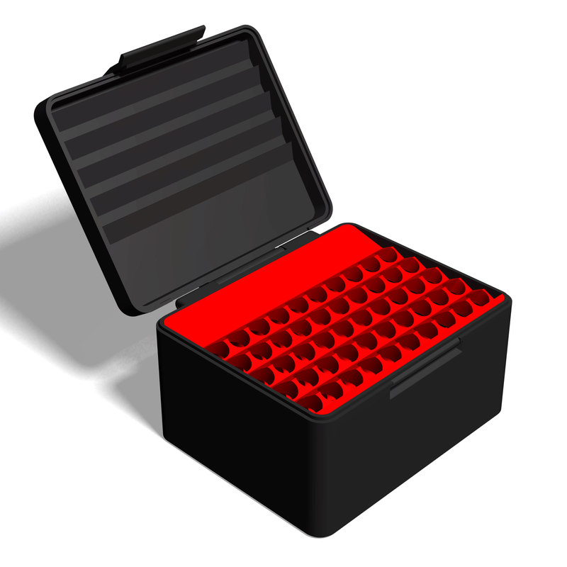 3D printable ammo box 270