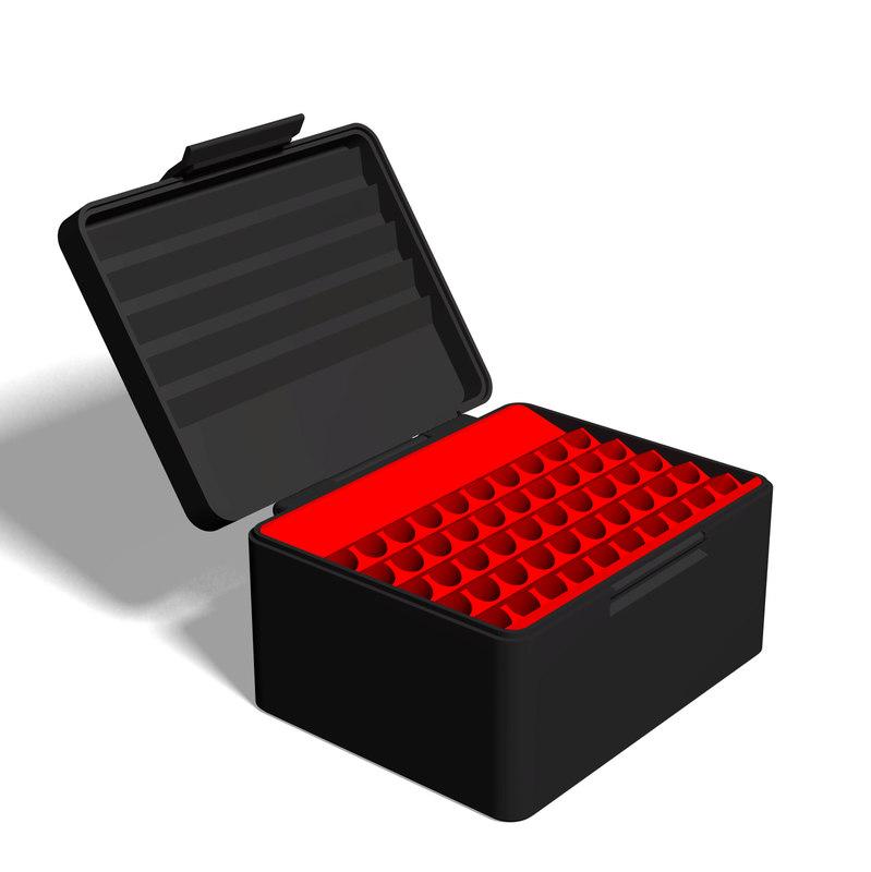 ammo box 7x57 mm 3D model