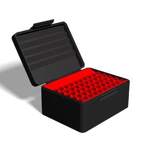 ammo box 7 mm 3D model