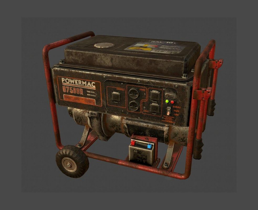 3D ready power generator -