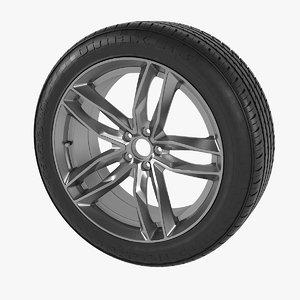 3D dimax wheel tyre