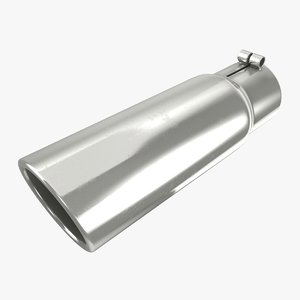 3D exhaust pipe 06 model