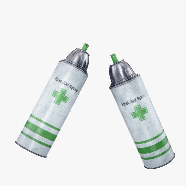 ready aid spray 3D