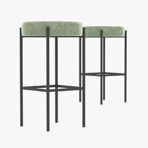 3D model stool 430 bar furniture