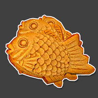 taiyaki sweet 3D model