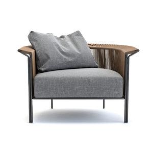 lema alton armchair 3D model
