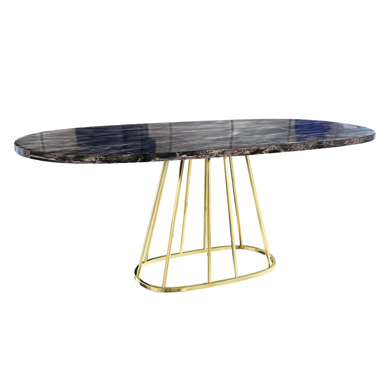 aile table rooma design modern 3D model