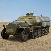 3D sd 251 kfz model
