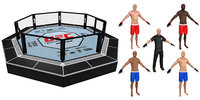 mma pack referee 3D model