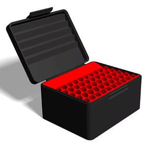 3D model ammo box 7 mm