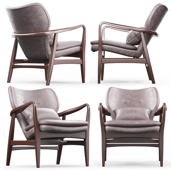 cult living hampton armchair 3D model