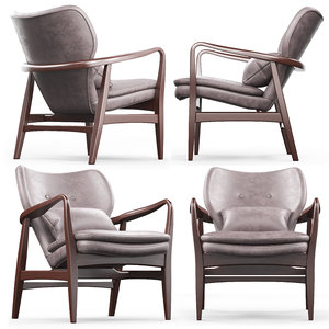 cult living hampton armchair 3D model