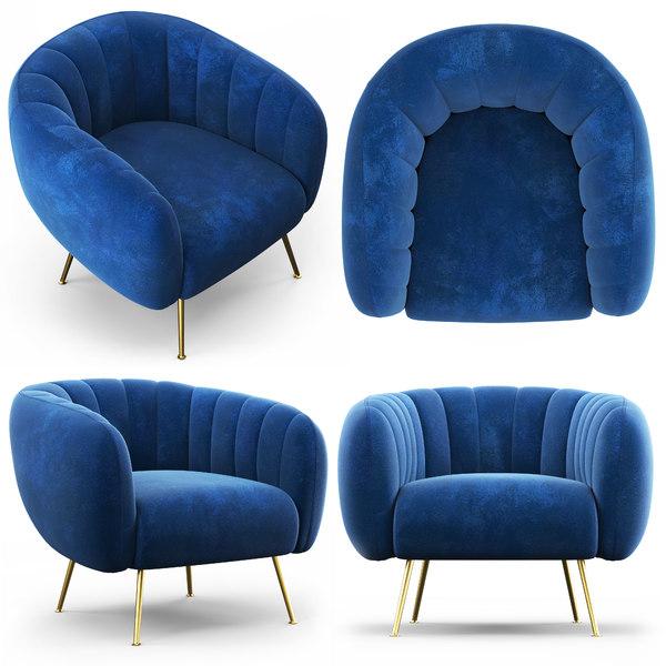 3D cult living effie armchair