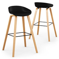 3D cult living milano bar stool