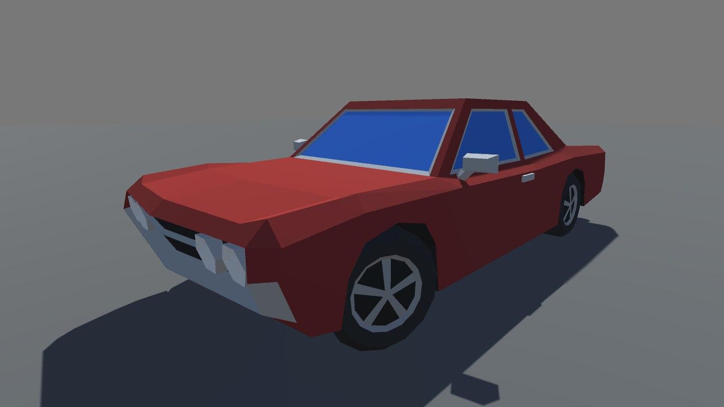 car ready mobile games 3D model