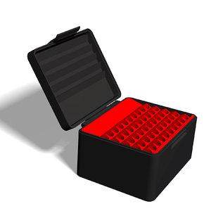 3D model ammo box 8x57 js