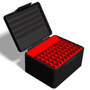 ammo box 8x68 s 3D model