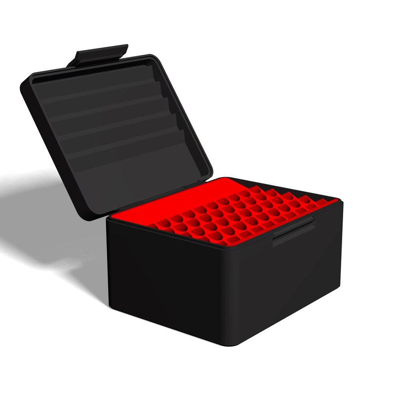 3D ammo box 50 9