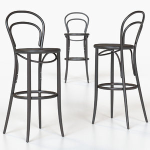 era barstool michael thonet 3D model