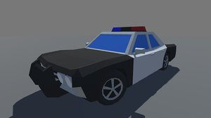3D car ready mobile games model