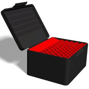3D ammo box 416 rigby