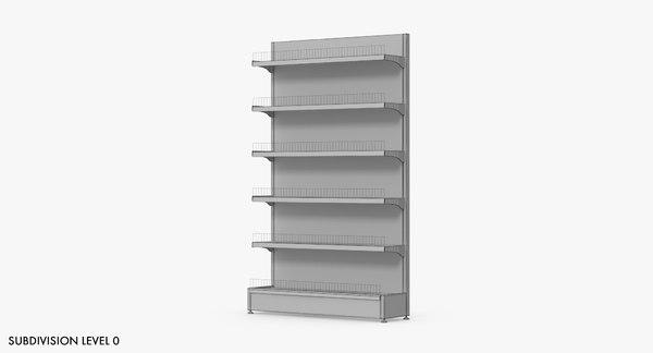 3D shelving 1 model