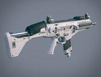 amx assault rifle ammo 3D model