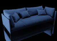 saba livingston sofa 3D model