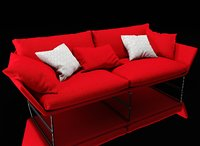 saba new-york sofa 3D