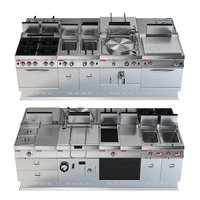 Angelo Po Gamma professional multifunctional  catering equipment