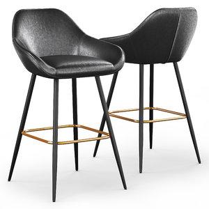 3D cult living rena bar stool model