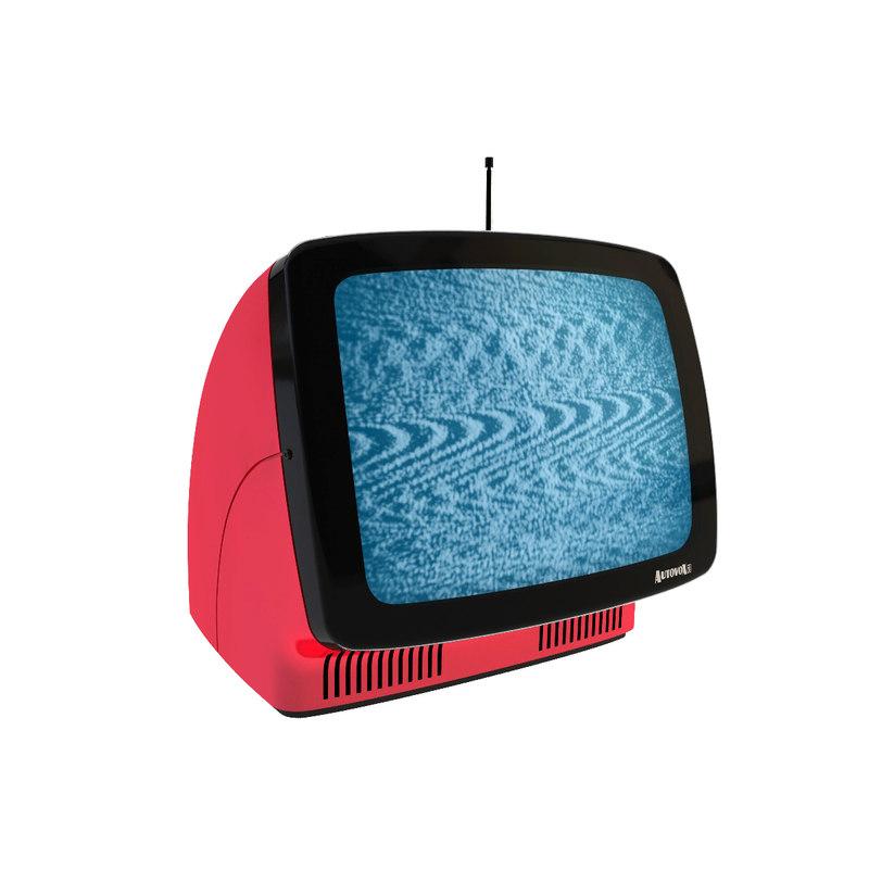 autovox linea 1 television 3D model