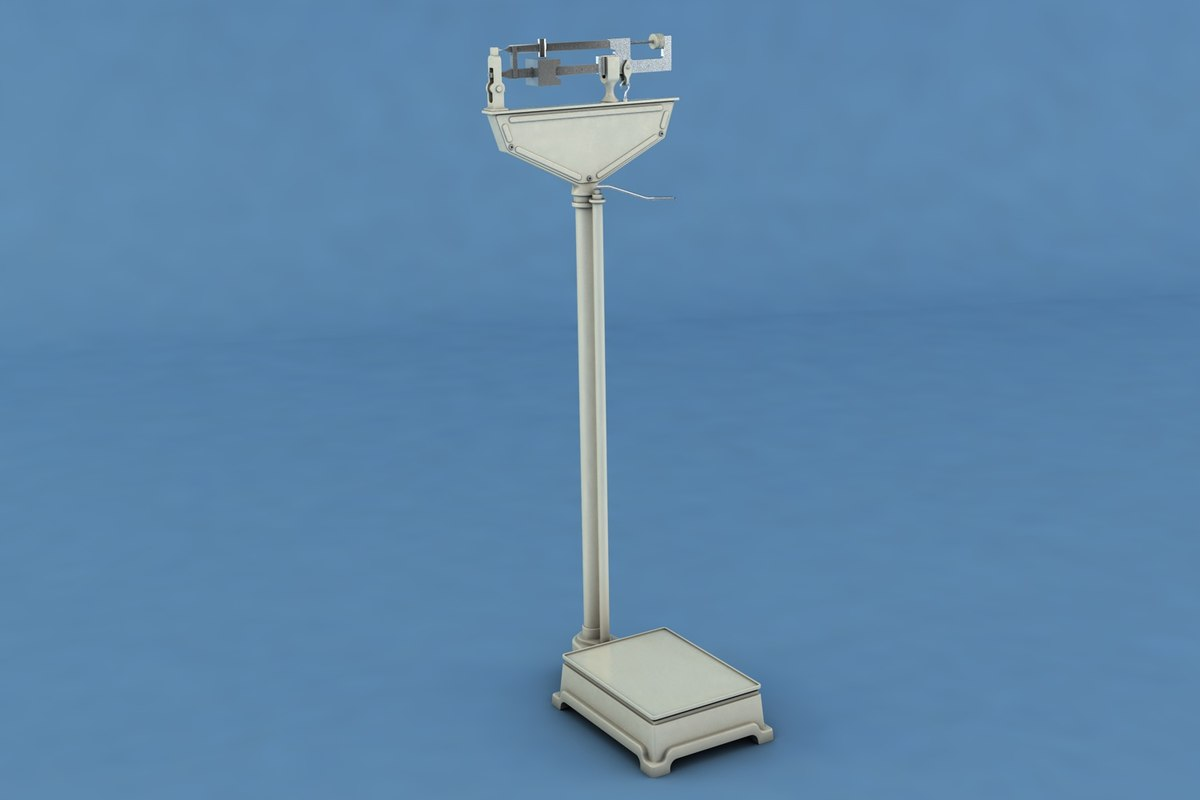 3D mechanical physician scale