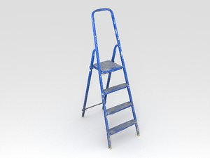 3D painting ladder