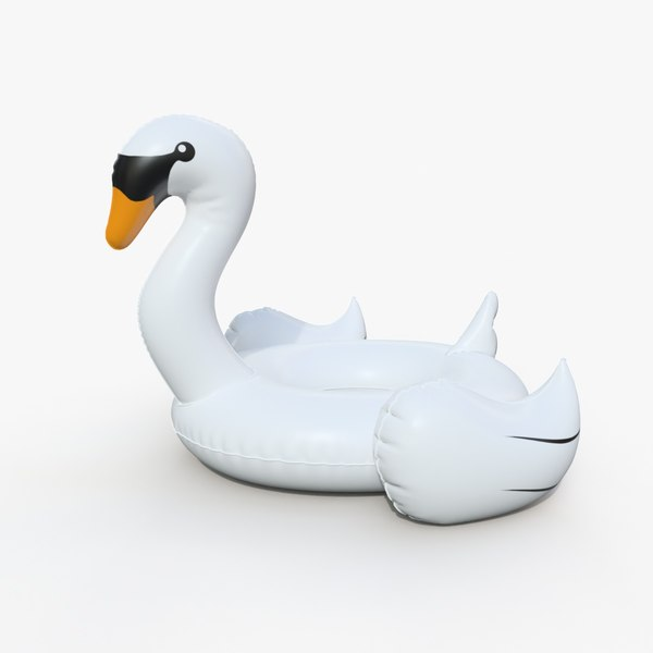float ring swan 3D model